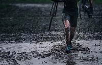 muddy run<br /> <br /> UCI cyclo-cross World Cup Dendermonde 2020 (BEL)<br /> <br /> ©kramon