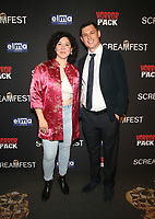 HOLLYWOOD, CA - OCTOBER 12: Anatasha Blakely, Jacob Sorling, at the 21st Screamfest Opening Night Screening Of The Retaliators at Mann Chinese 6 Theatre in Hollywood, California on October 12, 2021. Credit: Faye Sadou/MediaPunch