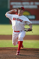 July 18th, 2007:  Thomas Eager of the Batavia Muckdogs, Short-Season Class-A affiliate of the St. Louis Cardinals at Dwyer Stadium in Batavia, NY.  Photo by:  Mike Janes/Four Seam Images