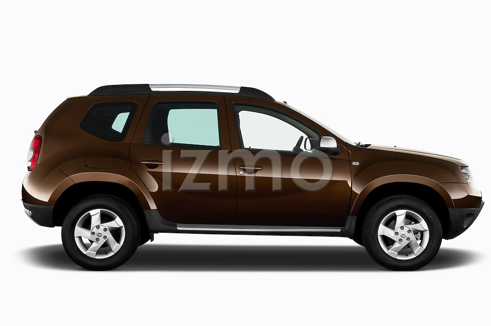Passenger side profile view of a 2010 Dacia Duster 4 Door SUV
