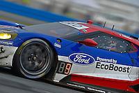 28-31 January, 2016, Daytona Beach, Florida USA<br /> 66, Ford, GT, GTLM, Joey Hand, Dirk Muller, Sebastien Bourdais<br /> ©2016, F. Peirce Williams