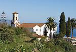 Spain, Canary Islands, La Palma, Villa de Mazo: church San Blas