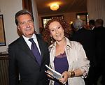 FULVIO CONTI CON LA MOGLIE<br /> CELEBRAZIONE DEI 60 ANNI DELLO STATO D'ISRAELE TEATRO DELL'OPERA ROMA 2008