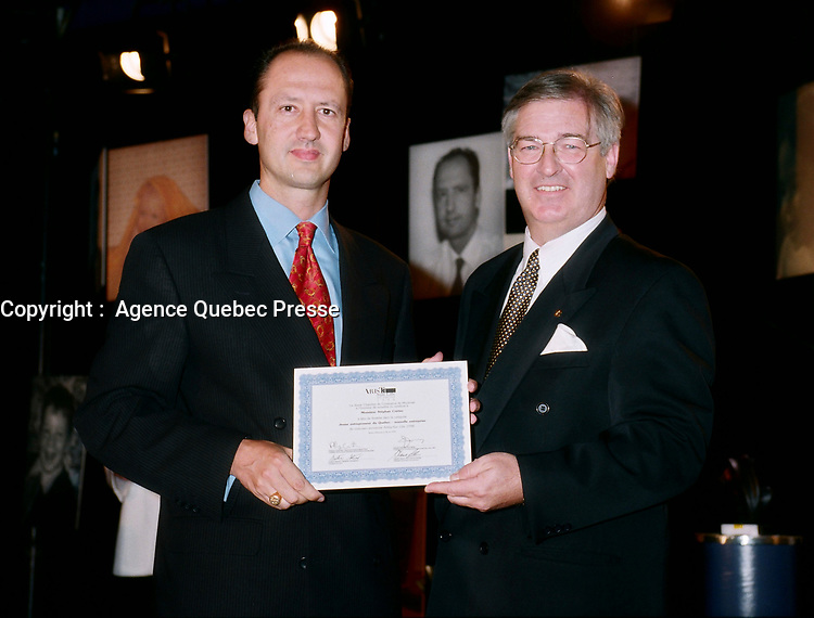 Montreal (Qc) CANADA - May 28, 1998<br /> -File Photo -<br /> Stephane Cretier, President and CEO, GARDA