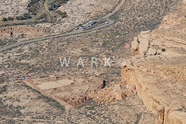 Pueblo Bonito aerial