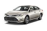 2018 Toyota Avalon XLE Premium 4 Door Sedan Angular Front stock photos of front three quarter view