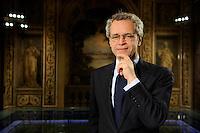 Enrico Mentana <br /> Roma 10/3/2010 Studi Corriere Della Sera<br /> Marco Rosi / Insidefoto