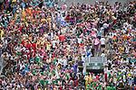 Atmosphere during the HSBC Hong Kong Rugby Sevens 2017 on 08 April 2017 in Hong Kong Stadium, Hong Kong, China. Photo by Weixiang Lim / Power Sport Images