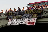 "13.09.2016 - ""No Dakota Access Pipeline Solidarity Action"" - Banner Drop #NoDAPL"