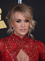 Carrie Underwood @ the 59th Annual GRAMMY Awards held @ the Microsoft Theatre.<br /> February 12, 2017 , Los Angeles, USA. # 59EME GRAMMY AWARDS 2017