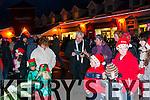 Ballybunion Christmas Lights Switch On: Fr. Spring blessing the Christmas Tree in Ballybunion on Sunday evening last.