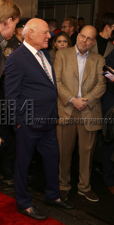 """Barry Diller and Scott Rudin attends the Broadway Opening Night Performance of """"To Kill A Mockingbird"""" on December 13, 2018 at The Shubert Theatre in New York City."""