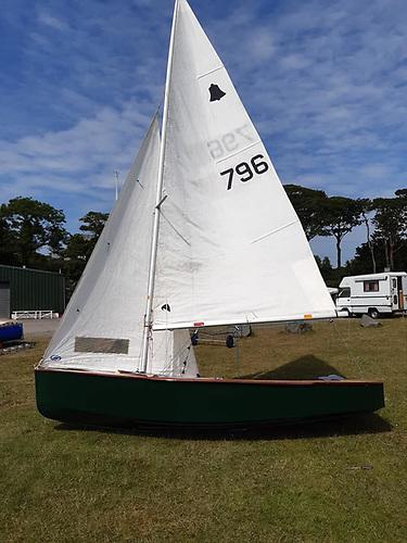 Famous Belfast Lough GP14 Dinghy 'Ventura' is Restored & Sailing Again at Newtownards