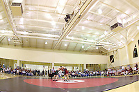 Wrestling at the San Diego Sports Hall in the Ford Center facility in Stanford, CA.