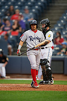 Reading Fightin Phils Grenny Cumana (4) at bat during an Eastern League game against the Akron RubberDucks on June 4, 2019 at Canal Park in Akron, Ohio.  Akron defeated Reading 8-5.  (Mike Janes/Four Seam Images)