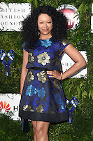 Kanya King<br /> arrives for the One for the Boys charity fashion event at the V&A Museum, London.<br /> <br /> <br /> ©Ash Knotek  D3133  12/06/2016