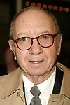 Neil Simon Attending the Opening night performance of Neil Simon's THE ODD COUPLE at the Brooks Atkinson Theatre in New York City.<br />October 27, 2005
