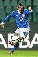 "Riccardo Saponara.Siena 13/11/2012 Stadio ""Franchi"".Football Calcio Nazionale U21.Italia v Spagna.Foto Insidefoto Paolo Nucci."