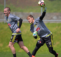 161108 A-League Football - Wellington Phoenix Training