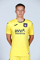30th July 2020, Turbize, Belgium;  pictured during the team photo shoot of Rsc Anderlecht prior the new Jupiler Pro League season, on 30/07/2020, in Tubize, Belgium.