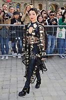 Octber 3 2017, PARIS FRANCE the Louis Vuitton Show at the Paris Fashion Week<br /> Spring Summer 2017/2018. Ruth Negga arrives at the show.
