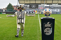 mascotte Eendracht Aalst pictured before a female soccer game between Eendracht Aalst and Standard Femina de Liege on the 11 th matchday of the 2020 - 2021 season of Belgian Scooore Womens Super League , Saturday 23 of January 2021  in Aalst , Belgium . PHOTO SPORTPIX.BE | SPP | STIJN AUDOOREN