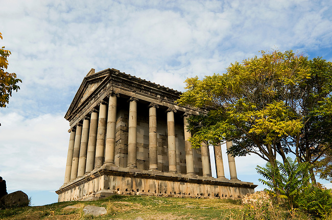 ARMENIA, NEAR YEREVAN, GARNI TEMPLE, BUILT IN THE FIRST CENTURY A.D.