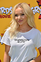 """LOS ANGELES, USA. August 10, 2019: Dove Cameron at the premiere of """"The Angry Birds Movie 2"""" at the Regency Village Theatre.<br /> Picture: Paul Smith/Featureflash"""