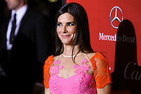 PALM SPRINGS, CA - JANUARY 04: Actress Sandra Bullock arrives at the 25th Annual Palm Springs International Film Festival Awards Gala held at Palm Springs Convention Center on January 4, 2014 in Palm Springs, California. (Photo by Xavier Collin/Celebrity Monitor)