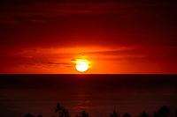sunset, Kailua Kona, The Big Island of Hawaii