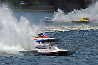"""Cal Phipps, GNH-41 , Joe Kreitzer, GNH-515 """"One Way"""" , Dan Walls, GNH-68 and Kevin Lacey, GNH-52 """"Wanna Bee"""" (Grand National Hydroplane(s)"""