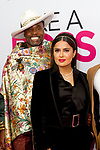 Salma Hayek Pinault and Billy Porter on the pink carpet of Like A boss movie perimeter. is a film actress and producer.
