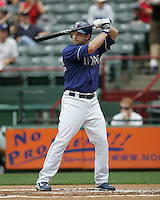 Texas Rangers DH Frank Catalanotto against the Seattle Mariners on May 14th, 2008 at Texas Rangers Ball Park in Arlington, Texas. Photo by Andrew Woolley .