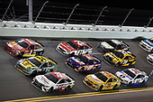Monster Energy NASCAR Cup Series<br /> Coke Zero 400<br /> Daytona International Speedway, Daytona Beach, FL USA<br /> Saturday 1 July 2017<br /> Erik Jones, Furniture Row Racing, Sport Clips Toyota Camry, Landon Cassill, Front Row Motorsports, Love's Travel Stops 'Honoring the Quiet Professional' Ford Fusion and Jamie McMurray, Chip Ganassi Racing, Chevrolet SS<br /> World Copyright: Nigel Kinrade<br /> LAT Images