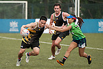 Commonwealth Bank of Australia vs CBRE during Plate Semi Final part of Swire Touch Tournament on 03 September 2016 in King's Park Sports Ground, Hong Kong, China. Photo by Marcio Machado / Power Sport Images