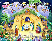 Randy, HOLY FAMILIES, HEILIGE FAMILIE, SAGRADA FAMÍLIA, paintings+++++Children's-Nativity,USRW42,#xr#