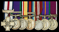 BNPS.co.uk (01202 558833)<br /> Pic: DixNoonanWebb/BNPS<br /> <br /> Pictured: Warrant Officer Shaun Jardine's medals.<br /> <br /> An Iraq War hero who served 21 years in the army today sold his gallantry medal for £140,000 so he can get on the property ladder.<br /> <br /> Warrant Officer Shaun Jardine, who served in the King's Own Scottish Borderers regiment, was awarded the prestigious Conspicuous Gallantry Cross for risking his life by single-handedly storming two enemy positions in 2003.<br /> <br /> The 21-year-old soldier, from Dumfries, found himself pinned down with no reinforcements during a patrol near Al Uzayr security base, Maysan Province.