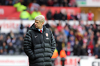 Pictured: Arsenal manager Arsene Wenger. Saturday 16 March 2013<br /> Re: Barclay's Premier League, Swansea City FC v Arsenal at the Liberty Stadium, south Wales.