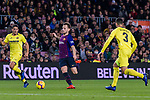 Ivan Rakitic of FC Barcelona (C) in action during the La Liga 2018-19 match between FC Barcelona and Villarreal at Camp Nou on 02 December 2018 in Barcelona, Spain. Photo by Vicens Gimenez / Power Sport Images