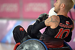 Trevor Hirschfield, Lima 2019 - Wheelchair Rugby // Rugby en fauteuil roulant.<br />