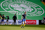 Celtic v St Johnstone…12.05.21  SPFL Celtic Park<br />Charlie Gilmour pictured during the warm up<br />Picture by Graeme Hart.<br />Copyright Perthshire Picture Agency<br />Tel: 01738 623350  Mobile: 07990 594431