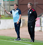 St Johnstone v Brechin….24.07.19      McDiarmid Park     Betfred Cup       <br />Saints boss Tommy Wright shouts instructions<br />Picture by Graeme Hart. <br />Copyright Perthshire Picture Agency<br />Tel: 01738 623350  Mobile: 07990 594431