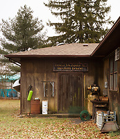 The unassuming exterior of the Dale Guild Foundry belies the craft haven inside.