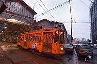 - tram depot Messina street....- deposito tram di via Messina
