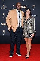 MIAMI, FL - FEBRUARY 1: John Randle and Candace Randle attend the 2020 NFL Honors at the Ziff Ballet Opera House during Super Bowl LIV week on February 1, 2020 in Miami, Florida. (Photo by Anthony Behar/Fox Sports/PictureGroup)