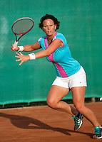 2013-08-13, Netherlands, Raalte,  TV Ramele, Tennis, NRTK 2013, National Ranking Tennis Champ,   Nicolette van Uitert<br /> <br /> Photo: Henk Koster