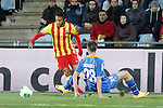 Barcelona´s Neymar Jr during a Spain King Cup soccer match between Getafe and Barcelona at Alfonso Perez Stadium in Madrid, Spain. January 16, 2014. (ALTERPHOTOS/Victor Blanco)