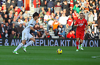 Saturday 10 November 2012<br /> Pictured: Ki Sung Yueng of Swansea (L)<br /> Re: Barclay's Premier League, Southampton FC v Swansea City FC at St Mary's Stadium, Southampton, UK.