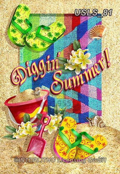 Lori, STILL LIFE STILLEBEN, NATURALEZA MORTA, paintings+++++1-DigginSummer,USLS81,#i#, EVERYDAY,summer,beach,fun,maritime