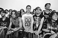 "- gathering of ""bikers"" motorcyclists, spectators of a rock concert<br /> <br /> - raduno di motociclisti ""bikers"", spettatori di un concerto rock"